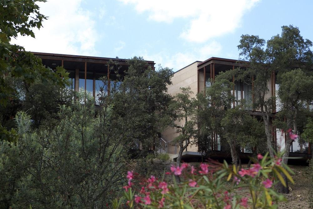 LesNouveaux bâtiments - vue des extérieurs